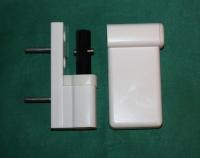 Петля дверная аналог Dr. Hahn КТ-V белая