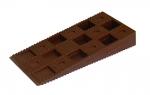 Клин монтажный 91х43х15 коричневый