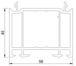 РАСШИРИТЕЛЬ 45 мм (ан.545), L-6,5