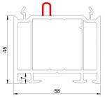 РАСШИРИТЕЛЬ 45 мм (ан.545) с уплотнением, L-6,5