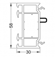 РАСШИРИТЕЛЬ 30 мм (ан.360), L-6,5