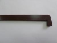 Торцевая заглушка на Брусбокс 480 мм махагон