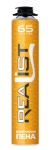 Пена монтажная REALIST 65 литров лето оранжевый
