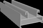 C640/02L Профиль рамы нижний, облегчённый