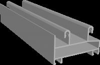 C640/02X Профиль рамы нижний