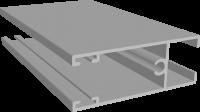 C640/12L Профиль створки низ-верх, облегчённый