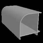 ESQU/02X Угловой профиль 60х60 мм