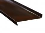 Отлив металлический коричневый (ral 8019)