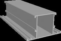 P400/17X профиль импоста дверной