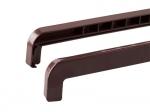 Торцевая заглушка на отлив 190-360 мм коричневая