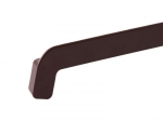 Заглушка на отлив 390 мм коричневая 17-143
